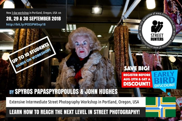 Portland Street Photography Workshop Announcement