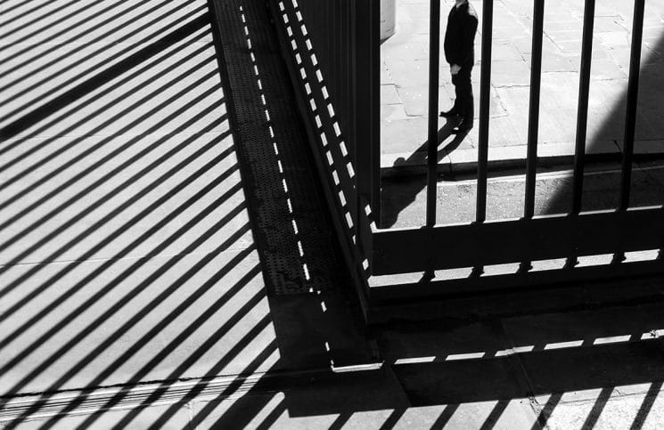 Behind bars by Rupert Vandervell
