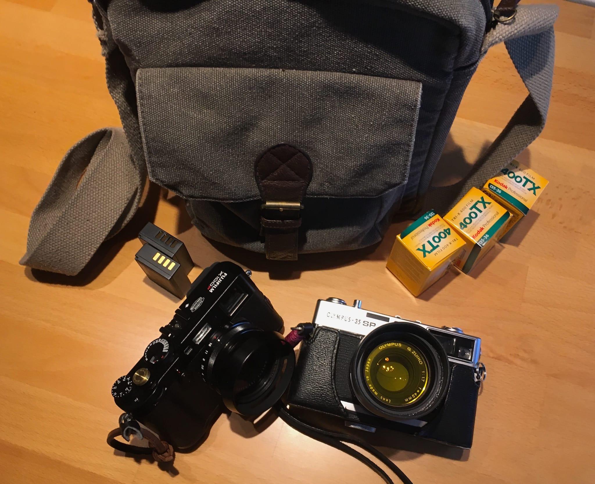 Dan Berntsson's Camera Bag - Bag No. 160