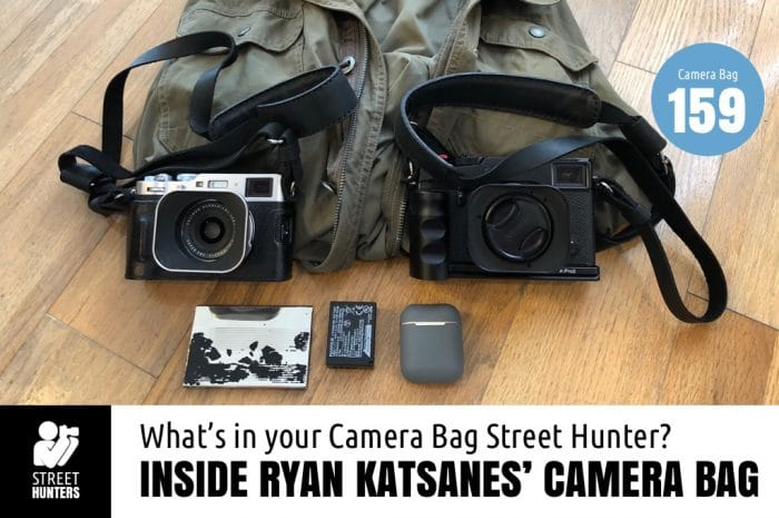 Ryan Katsanes' Camera Bag - Bag No. 159