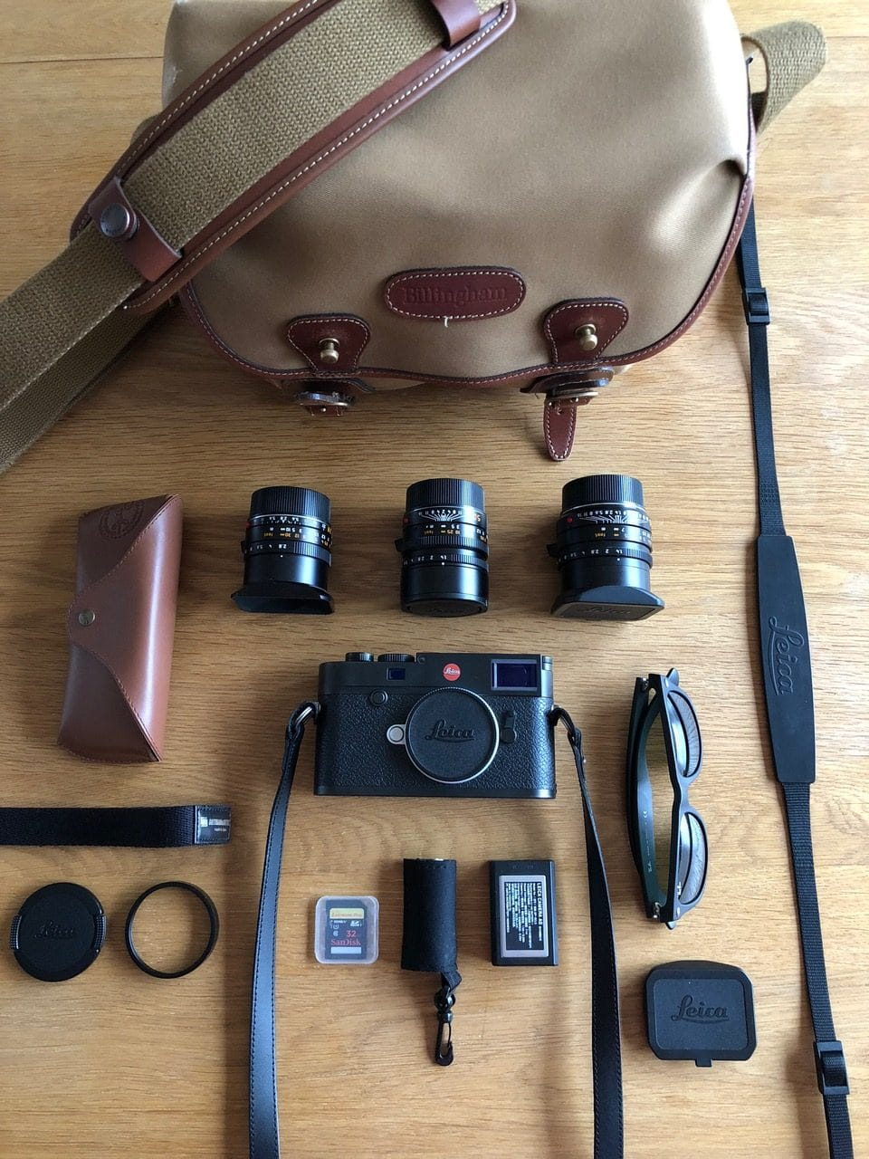 Inside Dan Baker's Camera Bag - Bag No. 161