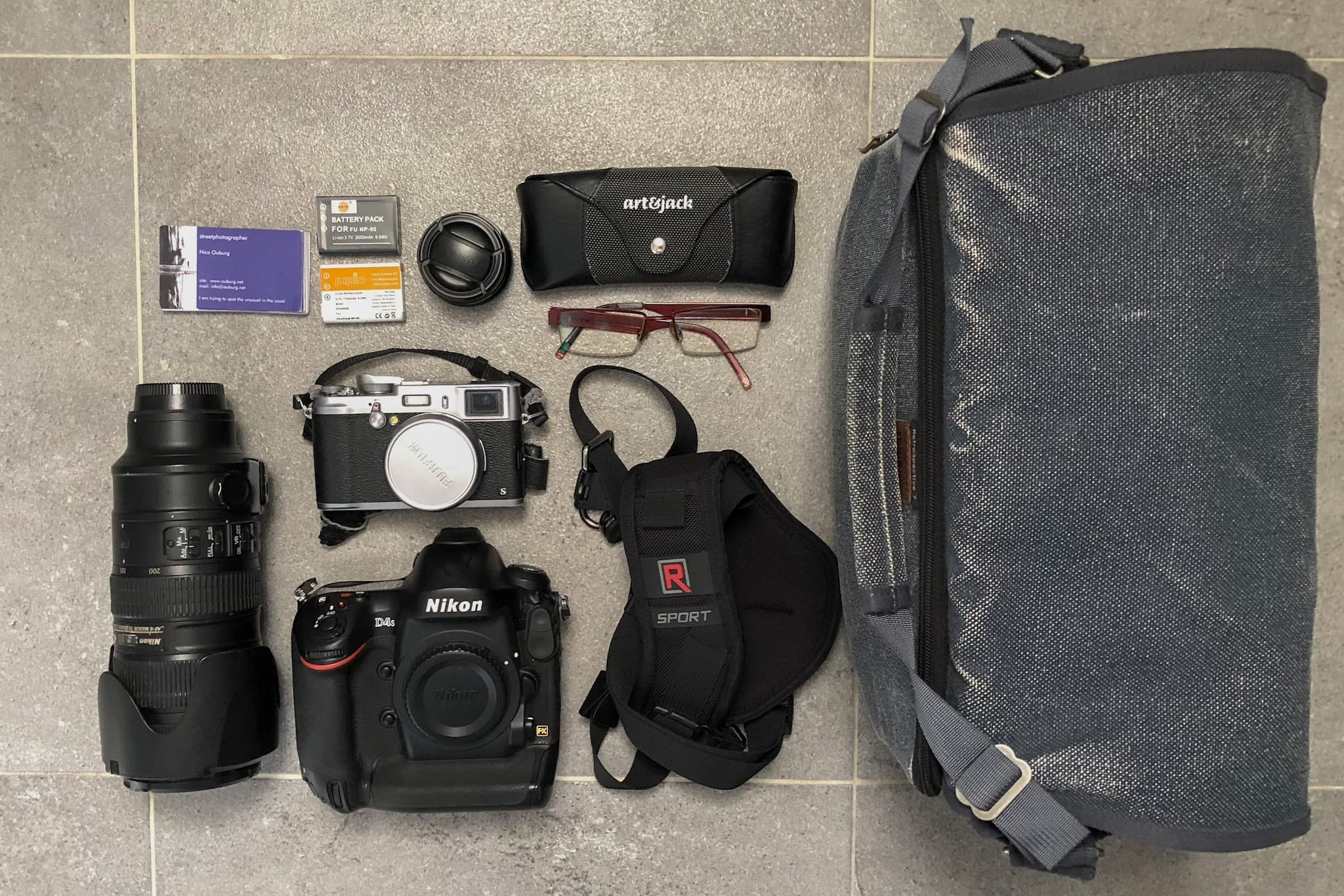 Inside Nico Ouburg's Camera Bag - Bag no. 162
