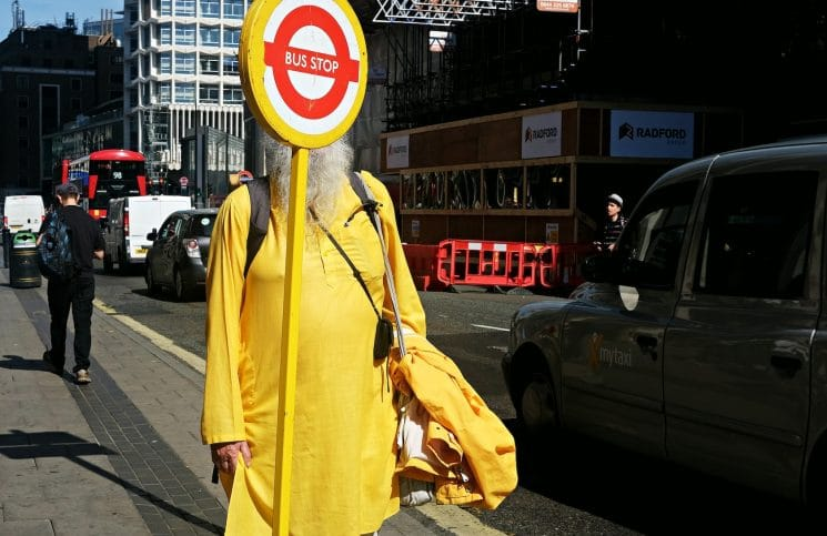 Photos by London based Street Photographer Becky Frances