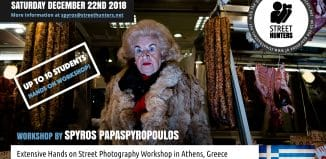 Athens Street Photography Workshop 22nd of December 2018