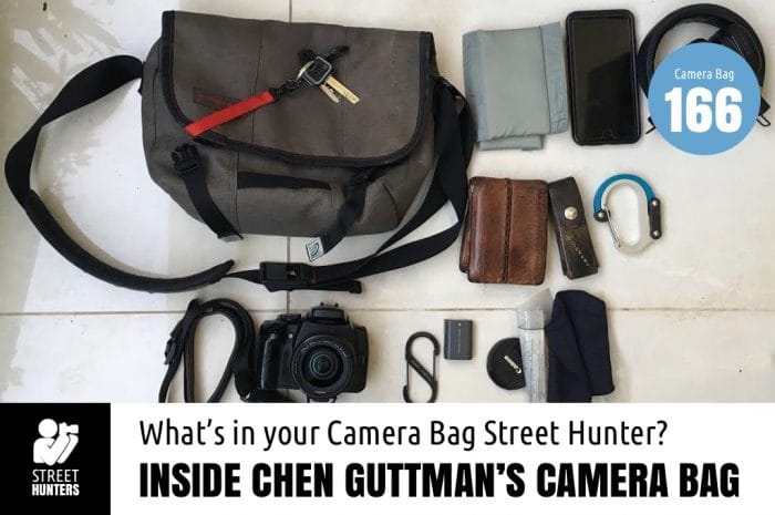 Inside Chen Guttman's Camera Bag - Bag No. 166