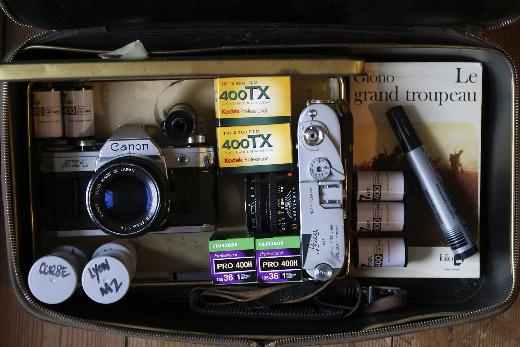 Inside Nathanael Fournier's Camera Bag - Bag No. 165