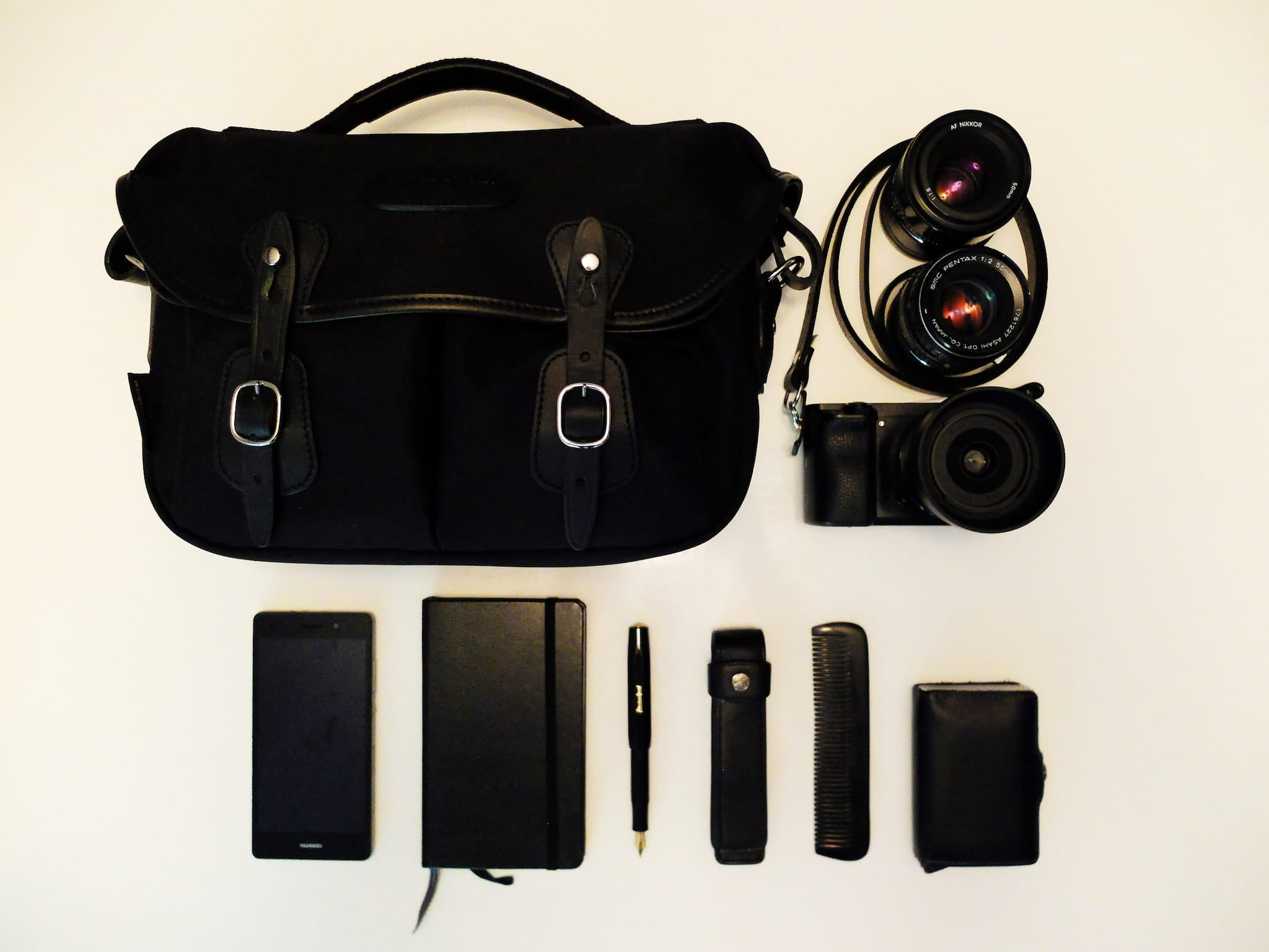 Inside Ulf Sejersen's Camera Bag - Bag No. 167