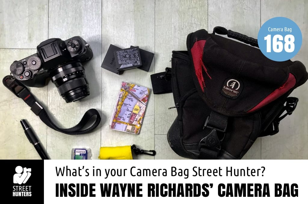 Inside Wayne Richards' Camera Bag - Bag no. 168