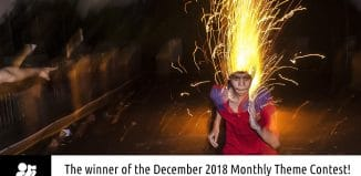"Winner of the December 2018 theme contest ""Flash Street Photography"" Ayanava Sil"
