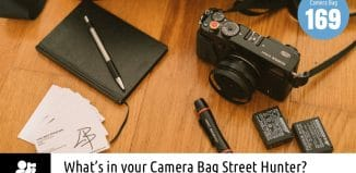 Inside Lewis Baker's Camera Bag - Bag No. 169