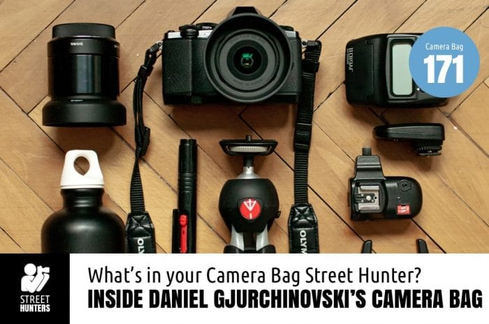 Daniel Gjurchinovski's Camera Bag