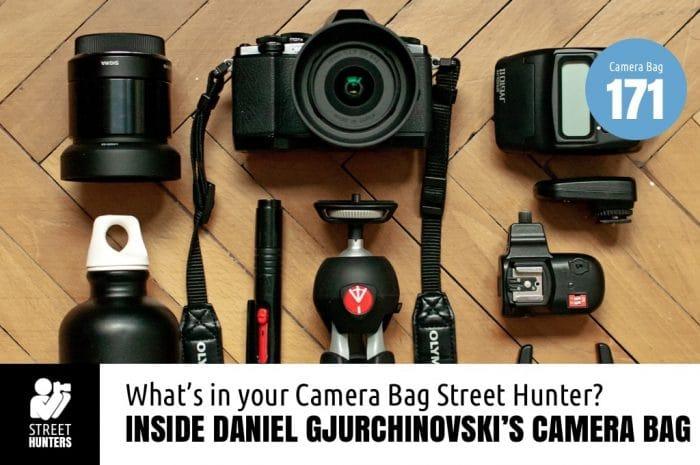 Daniel Gjurchinovski's Camera Bag