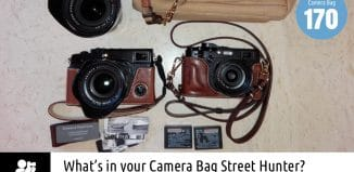 Inside Enrique Murciano's Camera Bag - Bag No. 170