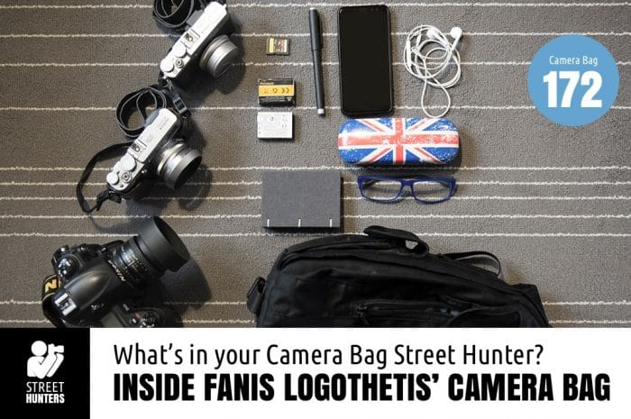 Fanis Logothetis Camera Bag