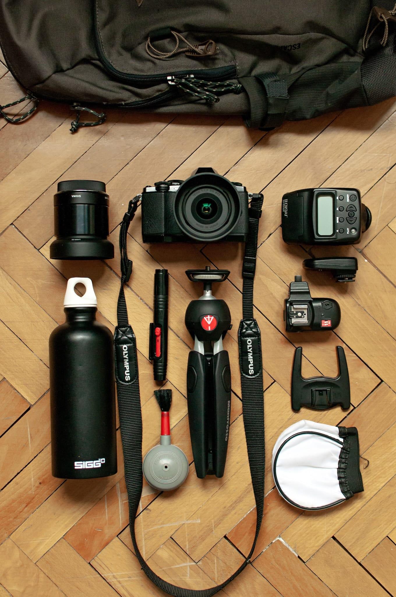 Inside Daniel Gjurchinovski's camera bag - Bag No. 171