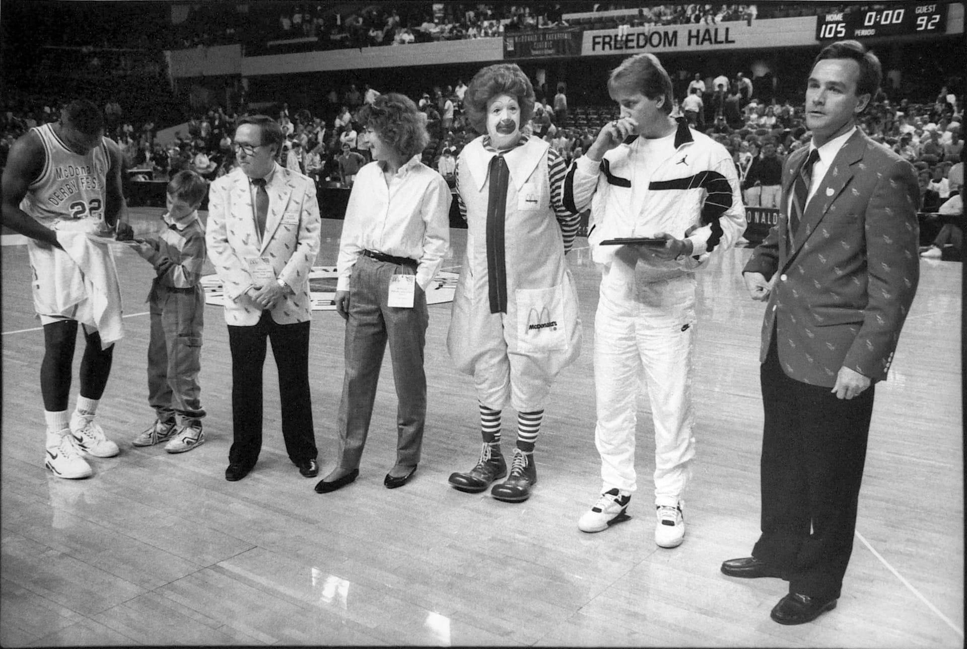Clown, Kentucky Derby Festival, 1991