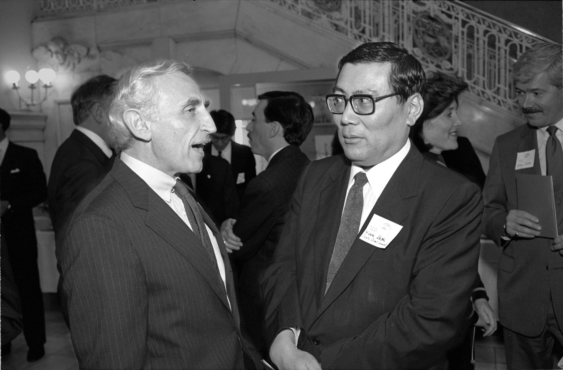 Congressman and Consul, Louisville, 1991