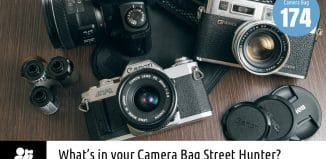 Inside Dionisis Limperopoulos' Camera Bag - Bag No. 174