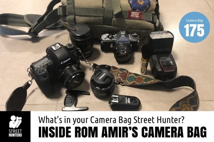 Inside Rom Amir's Camera Bag - Bag No.175
