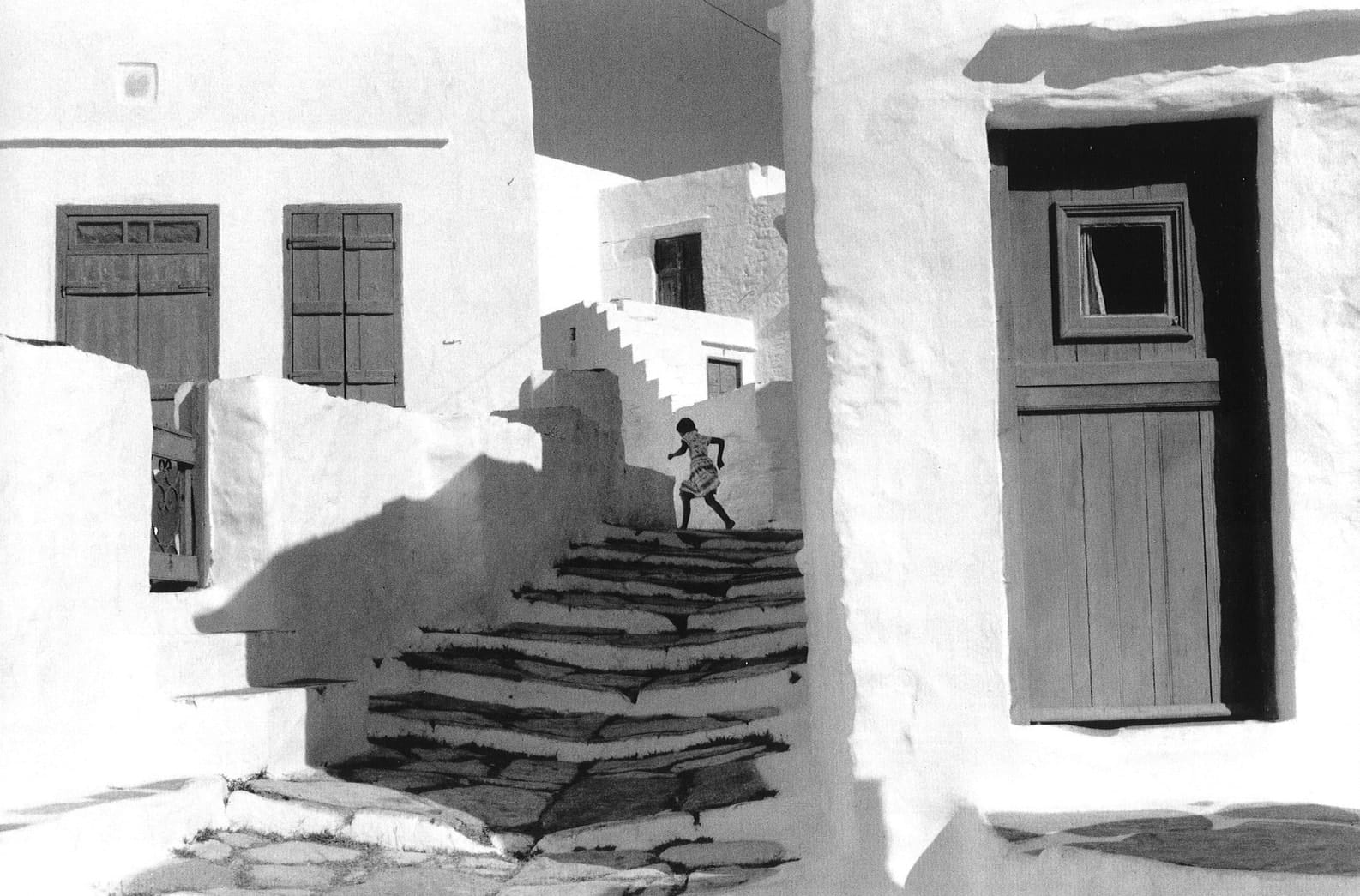 Henri Cartier-Bresson Siphnos, Greece (Girl on Stairs)