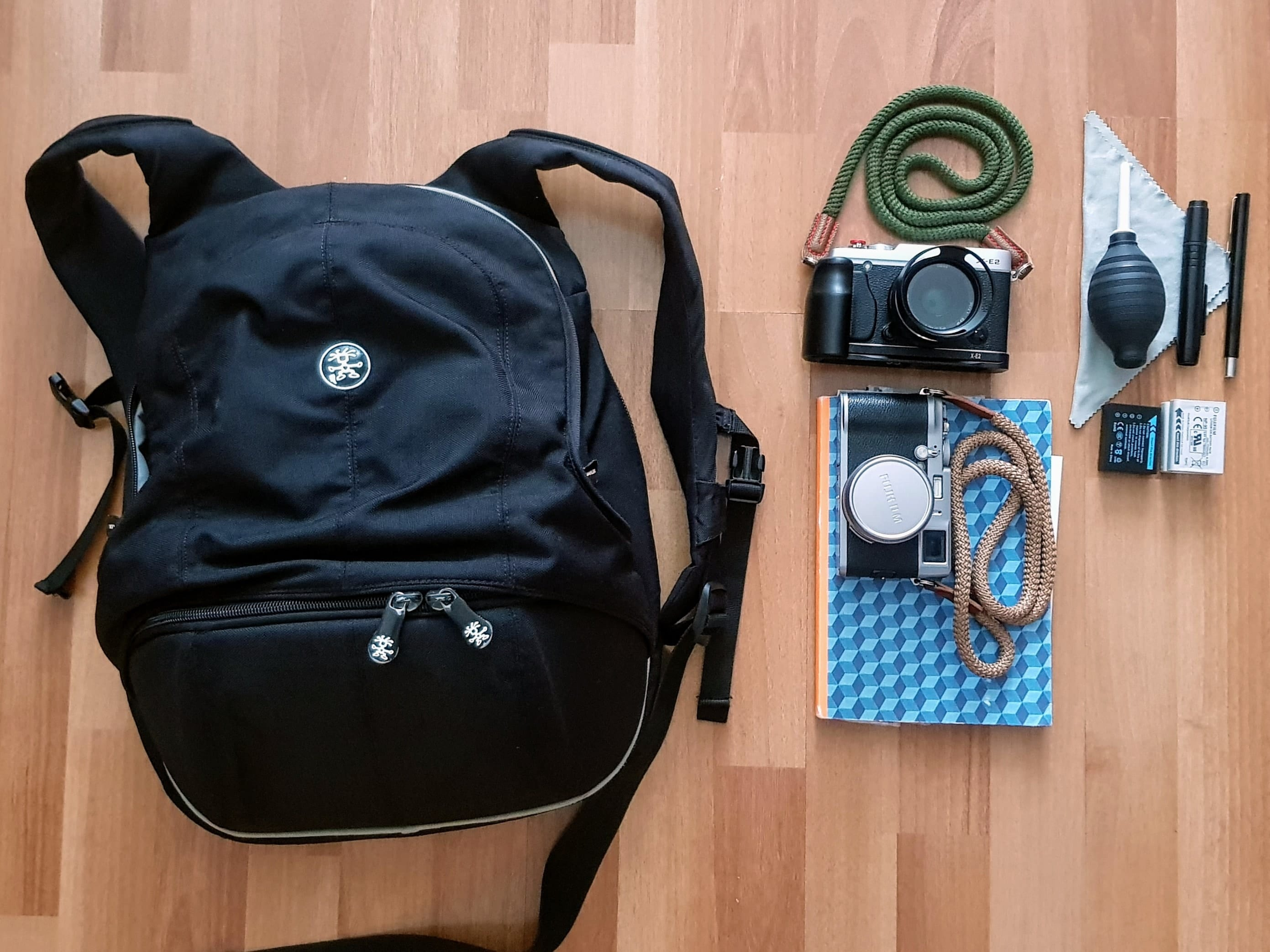 Inside Gabriel Dulinszky's Camera Bag - Bag No.176