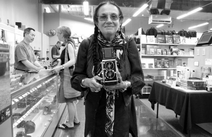 Mary Ellen Mark photographer self portrait