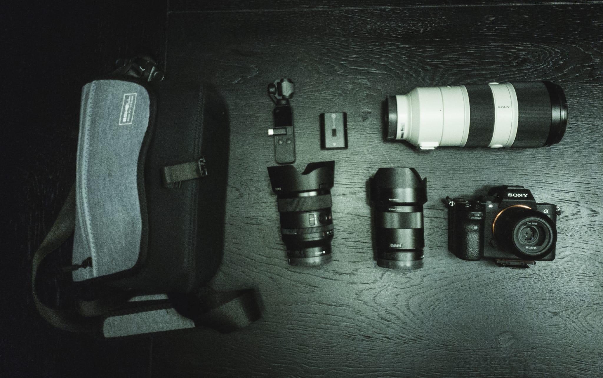 Teemu Jarvinen's Camera Bag
